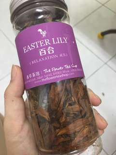 Easter Lily Tea
