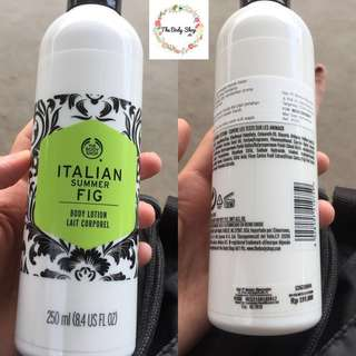 The Body Shop Body lotion italian summer fig