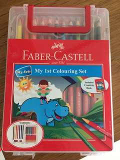 Faber-Castell My 1st Coloring Set