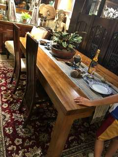Antique Teak Dining Table
