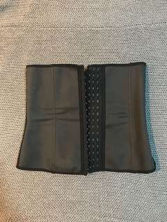 Corset latex waist trainer
