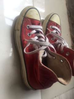 Converse ct high red