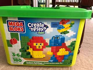 Mega Blocks Create n Play Jnr