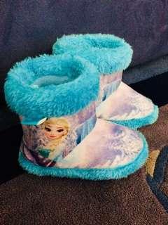 Girls Frozen Slippers size 12