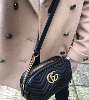Gucci marmont 相機包