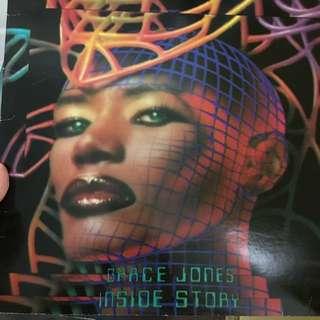 Grace Jones vinyl record