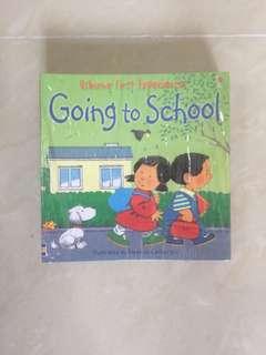 Going to School Usborne