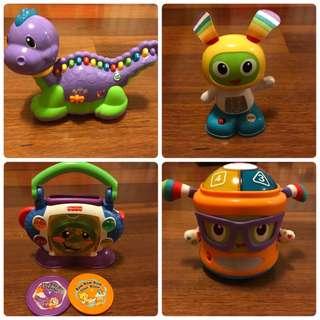 4 Toddler Music Toys