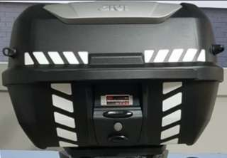 Top Case Reflective Stickers: Givi Kappa E43 Top Box (Free Postage!)