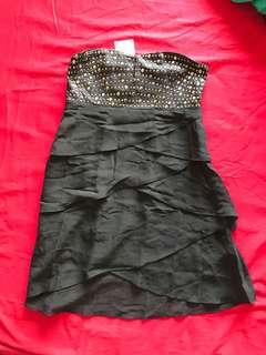 PRP black studded dress