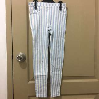 Zara Stripes Jeggings for Girls