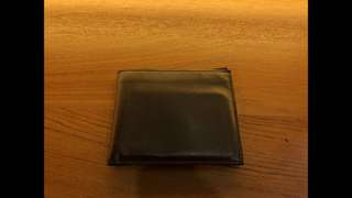 Valextra Brown Leather 6 Cards Wallet