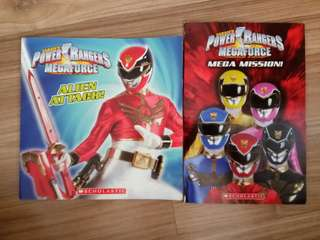Power Rangers Megaforce (2 books) Scholastic