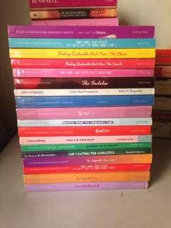 WATTPAD HAUL - TAKE ALL (18 BOOKS)