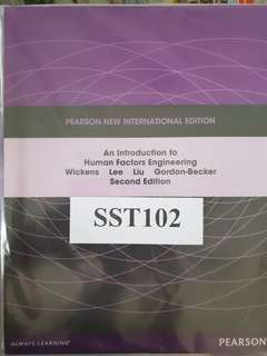 SST 102 An Introduction to Human Factors Engineering