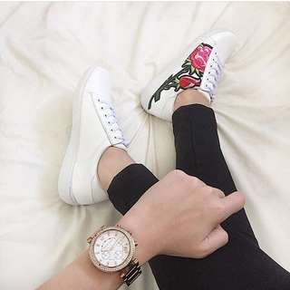 White shoes (gucci inspired)