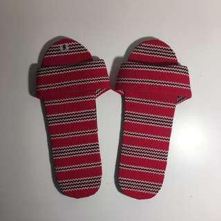 BAGUIO tribal soft slip-on / slippers / slides