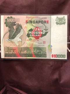 Bird Series $10k note