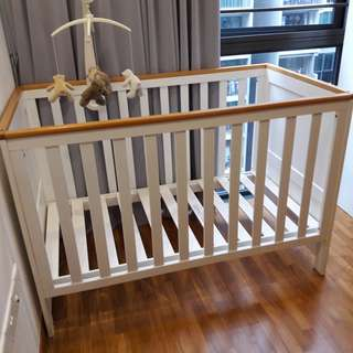 Baby Cot in good conditon for sale $60