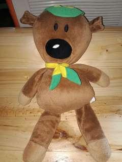 Teddy wearing Boy Scout Attire