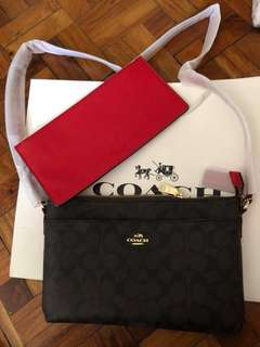 Coach sling bag made in Vietnam
