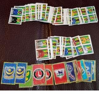 英格蘭超級足球聯賽05貼子一叠