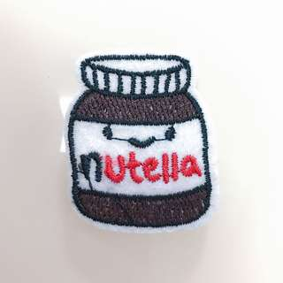 Nutella (Iron On Patch)