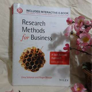 Research Methods for Business: A Skill-Building Approach, 6th Edition (Buku Penelitian Bisnis Inggris/English Business Research Book) - Uma Sekaran, Roger Bougie