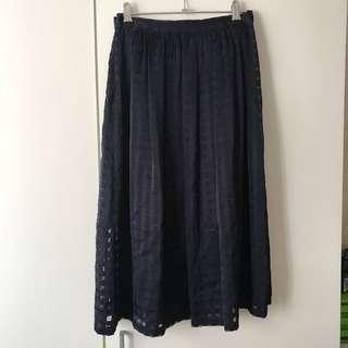 Forever New Navy Skirt