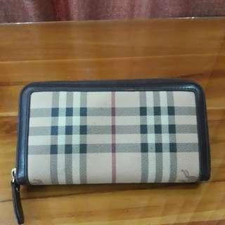 Authentic Burberry vintage wallet
