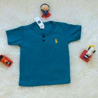 Kaos polo kancing anak