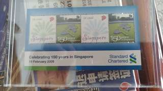 2009 standard chartered stamps