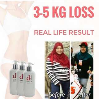 Body weight inch loss