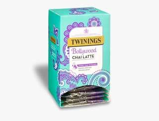 Twinings BOLLYWOOD CHAI LATTE - 15 PYRAMID BAGS (INDIVIDUALLY WRAPPED) 川寧印度拿鐵 15個茶包裝(獨立包裝)