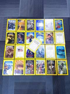 Set of 25 National Geographic Magazine/ Book Collection (yr 1952 - 2002)