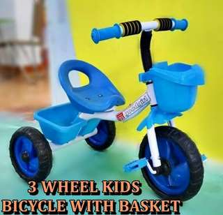 ~free postage~Tricycle with Basket