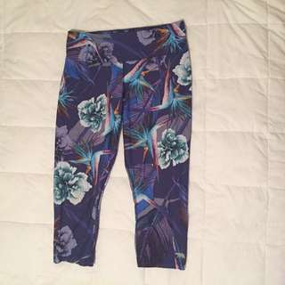 Running bare sports leggings