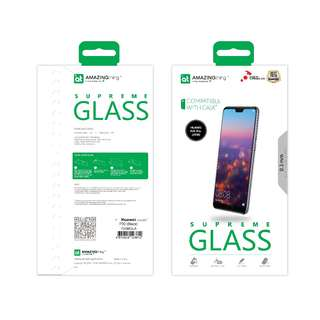 AMAZINGthing Huawei P20/P20 Pro 0.3mm 2.5D 全覆蓋弧邊鋼化玻璃貼
