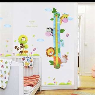 Baby wall growth chart