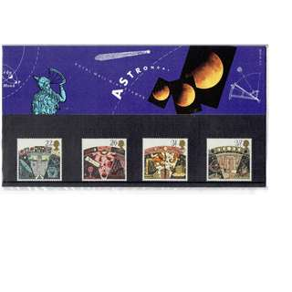Stamps Commemorating Astronomy