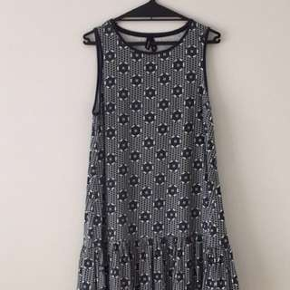 Huffer blue dress