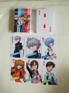 Evangelion Poker Card (Plastic)