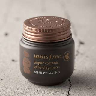 [10mg - SHARE] Innisfree - Super Volcanic Pore Clay Mask