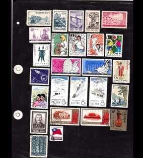 中國60,70年代雜票