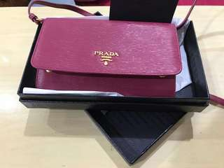 PRADA sling bag & wallet