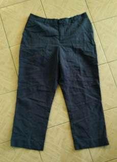 cotton pants size 34