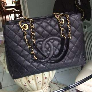 (Nego) Chanel Grand Shopping Tote in GHW