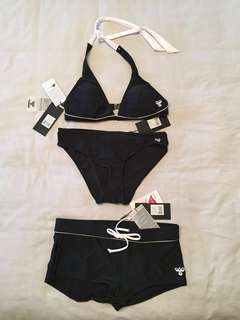 Bikini - 3 pieces - size small bottoms /size med top