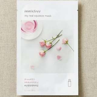 Inisfree Rose sheetmask