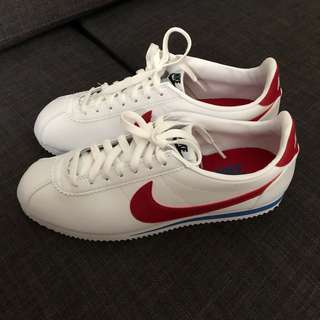 Nike Classic Cortez in Retro Leather (red/blue)